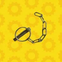 Чека М11 задней навески (с кольцом и цепочкой) М-11