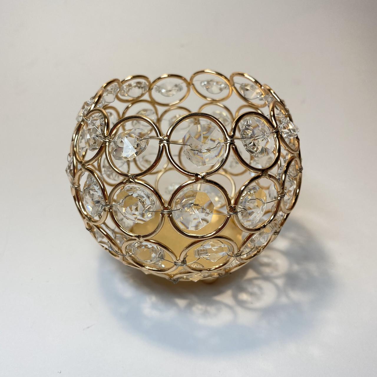 Стакан півсфера в камені для інструментів (пилок, кистей, дотсов, олівців)