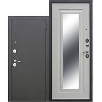 Двери входные уличные Таримус Групп Гарда 65 мм Царское зеркало Муар / Белый ясень