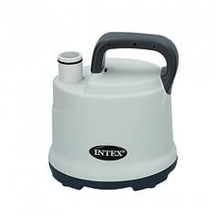 Насос дренажный для откачки воды из бассейна, мощный 3595 л./час Intex 28606 Grey