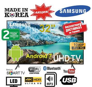 Телевизор Samsung 32 Smart TV Android 7, LED Самсунг 32 дюйма со смарт ТВ