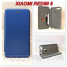 Чохол-книжка G-Case для Xiaomi Redmi 6 (Синій)