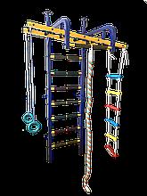 Усиленный гимнастический комплекс с рукоходом Радуга Улыбка ТМ Уют Спорт БЕСПЛАТНАЯ ДОСТАВКА