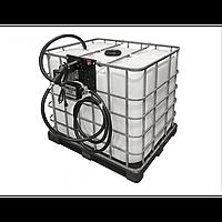 Мини АЗС на базе еврокуба 24В 50 л/мин, фото 1
