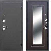Двери входные уличные Таримус Групп Гарда 65 мм Царское зеркало Муар / Венге