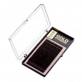 Ресницы для наращивания  B 0.07 Gold Standart 13 mm