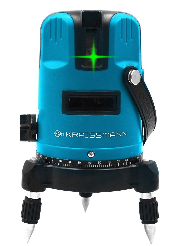 Лазерний рівень Kraissmann 5L L30 (зелений промінь)