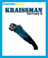 Болгарка  KRAISSMANN 1050-KWS-125E (С регулятором оборотов)