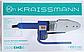 Паяльник для пластиковых труб KRAISSMANN 1500-EMS-6 (с электронным дисплеем), фото 2