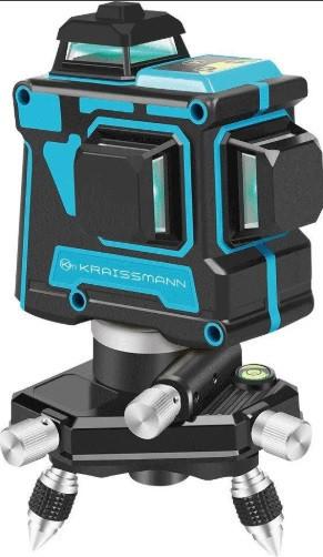 3D лінійний лазерний нівелір KRAISSMANN 12 3D-LL 25