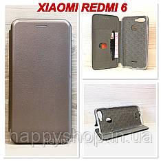 Чохол-книжка G-Case для Xiaomi Redmi 6 (Сірий)