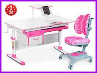 Комплект Evo-kids Evo-40 PN стол+ящик+полка+кресло Onyx Duo Y-115 APK, фото 1
