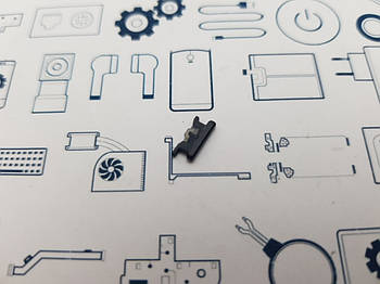 Кнопка включения Huawei P Smart Plus (INE-LX1) черная Сервисный оригинал с разборки
