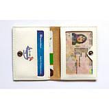 Обложка на ID паспорт Travel штампы, фото 2