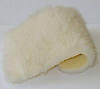 Мех овчины жёлтый  искусственный