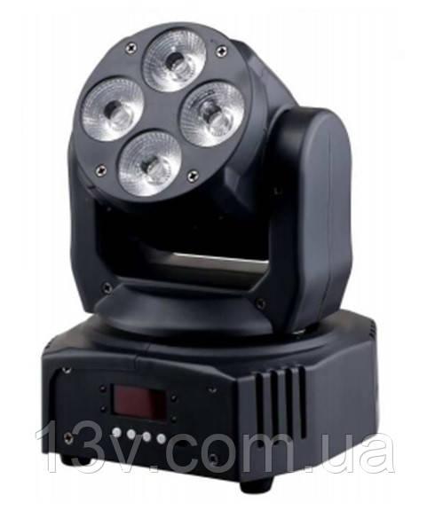 LED Голова New Light M-YLW412 LED MOVING HEAD 4x12W (6 в 1)