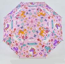 Детский зонт Единорожки. Розовый