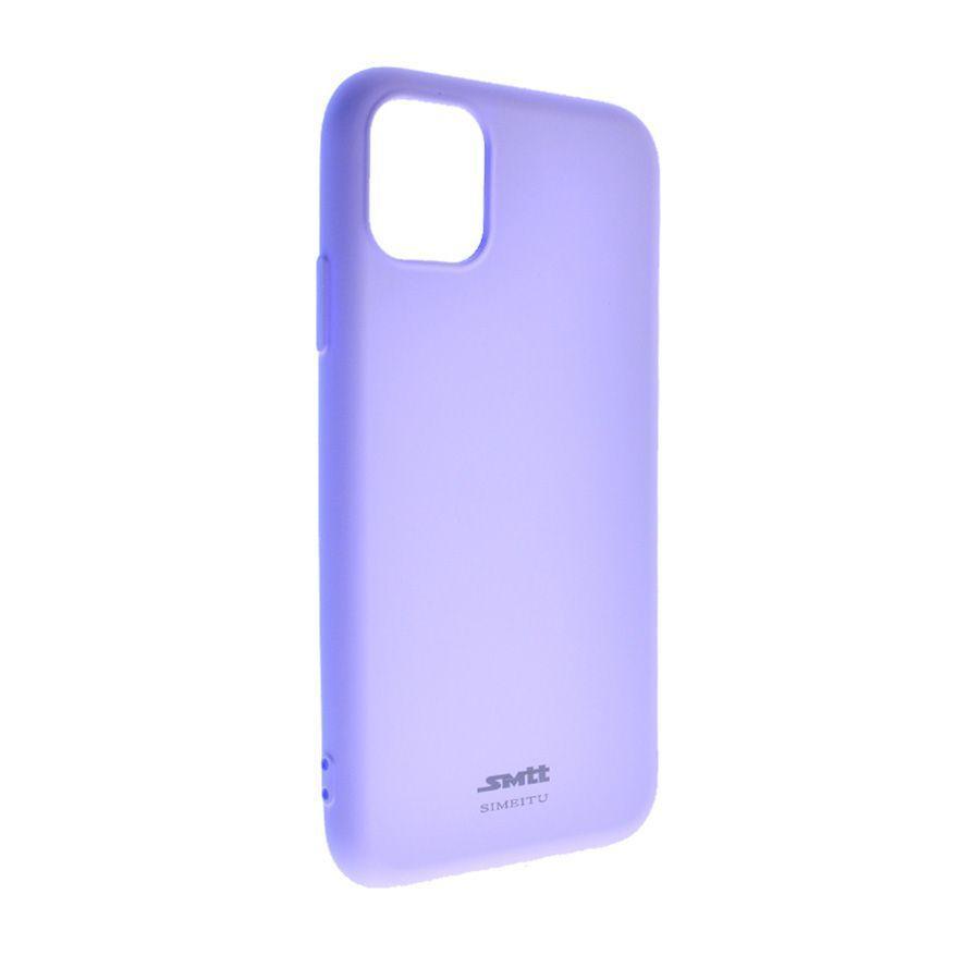 Силиконовый чехол SMTT Soft iPhone 11 Pro (Фиолетовый)
