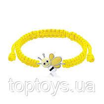 Браслет плетений UMa UMi Весела бджілка Жовтий (419565500605)