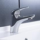 Однорычажный латунный смеситель для умывальника цвет хром Q-tap Eventi CRM 001, фото 3