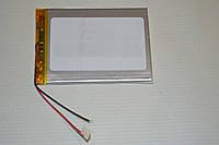 Универсальный аккумулятор (АКБ, батарея) 3.7V 4000mAh (3.0*70*95mm)