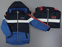 Куртка на флисе для мальчиков Grace оптом, 134-164 рр. Артикул: B86409, фото 1