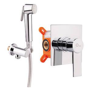 Набор для гигиенического душа Q-tap Form CRM 001AB SQ