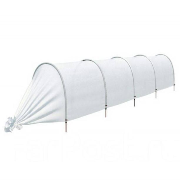 Теплиця міні парник з агроволокна Agreen 10 м, щільність 50 г/кв. м