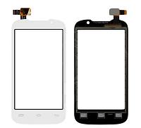 Оригинальный тачскрин / сенсор (сенсорное стекло) для Prestigio MultiPhone 3400 Duo (белый цвет)