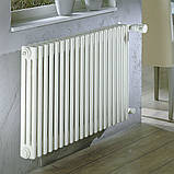Zehnder Charleston горизонтальный радиатор центрального отопления 1196 x 600 x 100 БЕЛЫЙ, 16-18 кв., фото 5