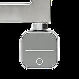 Полотенцесушитель  комбинированный Zehnder Subway 973 x 450 мм.нержавеющая сталь, с программируемым тэном NEX, фото 6