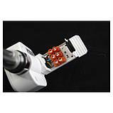 Полотенцесушитель электрический Zehnder Virando с тэном NEX 1226 x 500 мм белый, фото 4