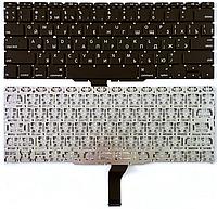 """Клавиатура для ноутбука Apple Macbook Air 11"""" A1370 A1465 (раскладка RU, 2011-2012гг., горизонтальный Enter)"""