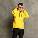 Худи мужское желтое Крейг от бренда ТУР, фото 2