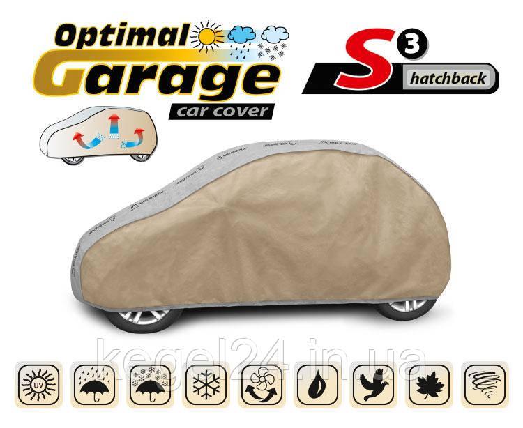 Тент для автомобиля Optimal Garage размер S3 Hatchback ОРИГИНАЛ! Официальная ГАРАНТИЯ!