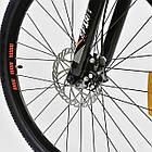 Велосипед Спортивный CORSO 26 дюймов JYT 001-7894 SPIRIT синий/оранжевый, фото 3