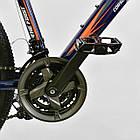 Велосипед Спортивный CORSO 26 дюймов JYT 001-7894 SPIRIT синий/оранжевый, фото 4
