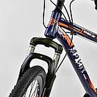 Велосипед Спортивный CORSO 26 дюймов JYT 001-7894 SPIRIT синий/оранжевый, фото 5