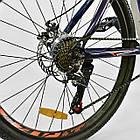 Велосипед Спортивный CORSO 26 дюймов JYT 001-7894 SPIRIT синий/оранжевый, фото 7