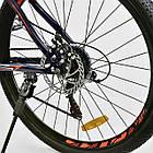 Велосипед Спортивный CORSO 26 дюймов JYT 001-7894 SPIRIT синий/оранжевый, фото 8