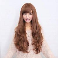 Жіноча перука довге русе волосся бронза арт.6868