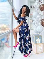 Нарядное вечерне платье в пол (универсальный (S/L))
