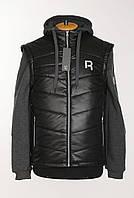 """Куртка-жилет """"Reebok"""" черного цвета."""