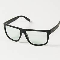 Мужские имиджевые поляризационные прямоугольные очки  (арт. P096-H) коричневые