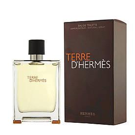Туалетная вода мужская Hermès Terre d'Hermès, 100 мл недолив
