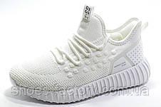 Женские белые кроссовки Baas Yeezy Boost, White, фото 2