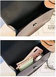 Маленька сумочка з заклепками і мавпами під PRADA, фото 3