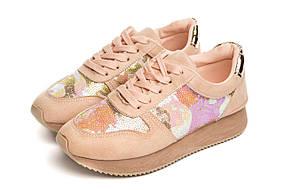 Кросівки Serena pink 39 SKL35-187197