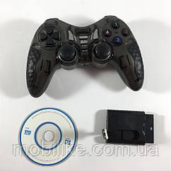 Геймерський Джойстик Wireless для PS2 PS3 PC Android TV Box (Чорний)