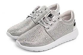 Жіночі кросівки Gofc 39 silver SKL35-187380